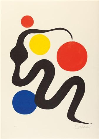Ausstellung in der Galerie Maeght in Zürich 1975 poster by.