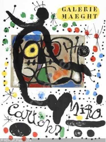 1) Galerie Maeght, Peintures Murales; 2) Galerie Maeght, Cartons.
