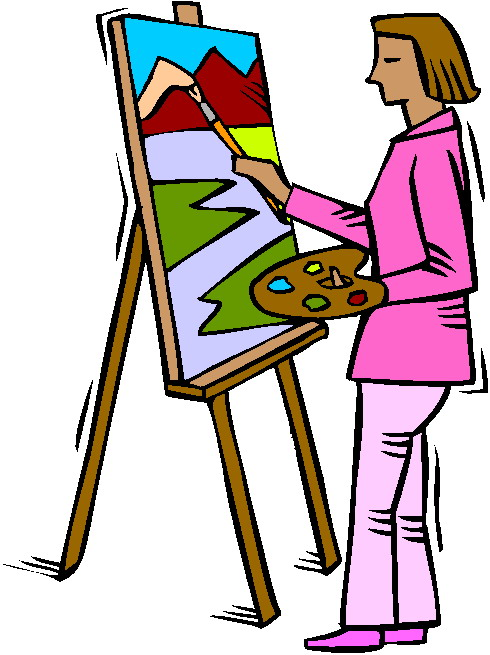 Painting Clipart & Painting Clip Art Images.
