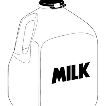 Milk Gallon Clipart.