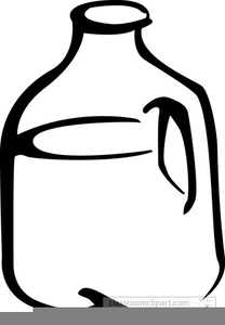 Gallon of milk clipart 1 » Clipart Station.