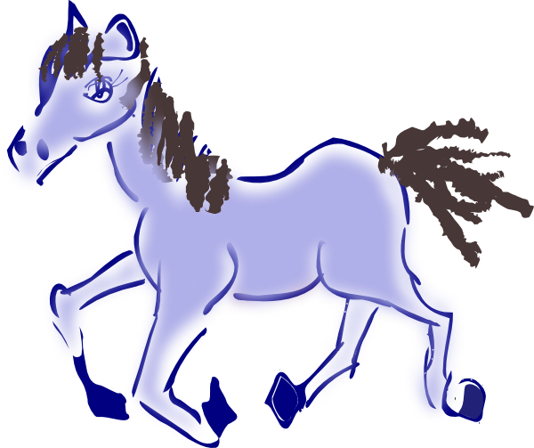 Galloping Horse Clipart.
