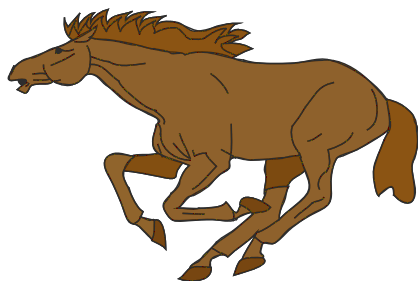 Free Galloping Horse Clipart, 1 page of Public Domain Clip Art.