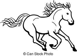 Galloping horse Vector Clipart Royalty Free. 2,458 Galloping horse.