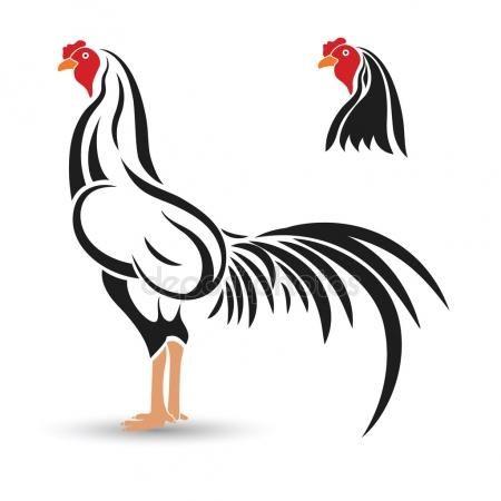 Image result for dibujos gallos de pelea.