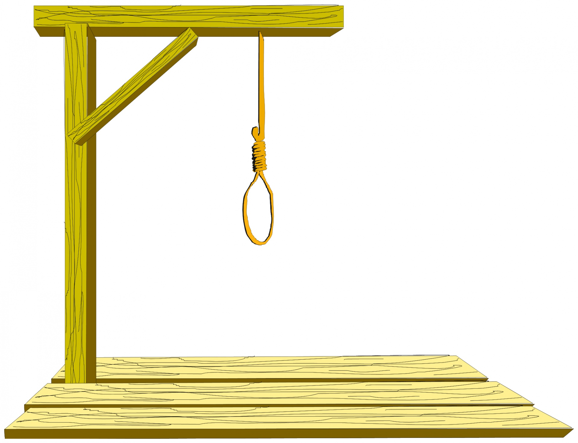 Gallows Free Stock Photo.