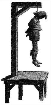 Free gallows Clipart.
