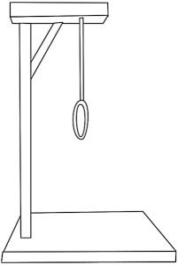 Gallows Clip Art Download.