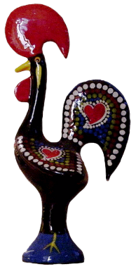 Galo de Barcelos / Rooster of Portugal.