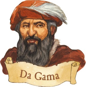 Da Gama: Explorer Clip Art.