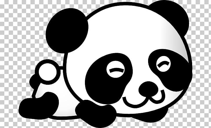 Giant panda Bear Baby Pandas Drawing , Gambar Kartun Panda.