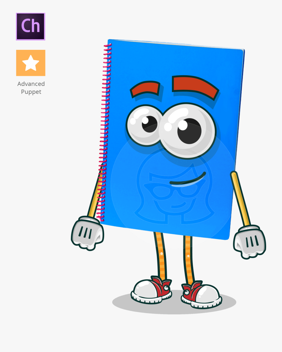 Gambar Animasi Note Book Png , Free Transparent Clipart.