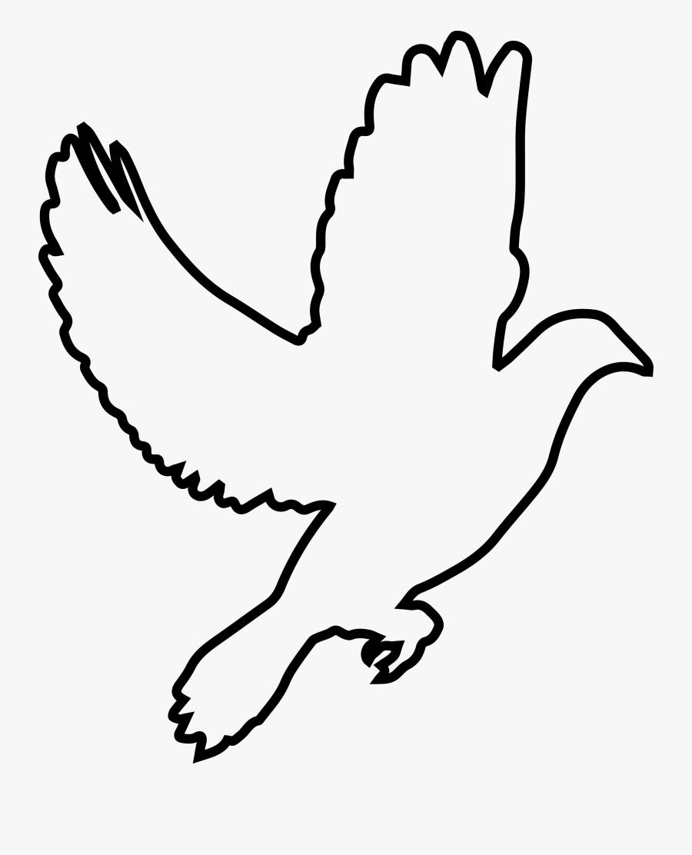 Mewarnai Gambar Burung Terbang , Free Transparent Clipart.