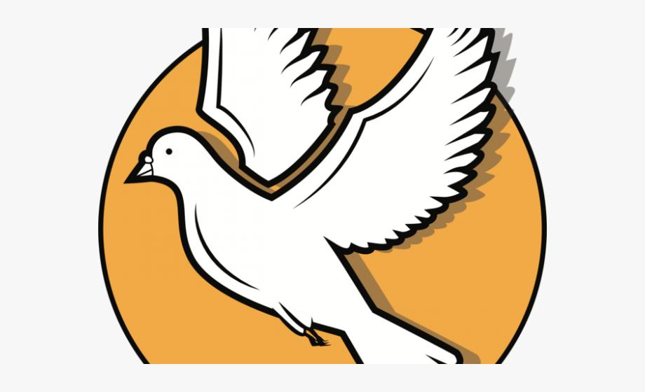 Turtle Dove Clipart Symbol.
