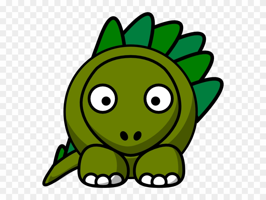 Gambar Kartun Dinosaurus Lucu Clipart (#523308).