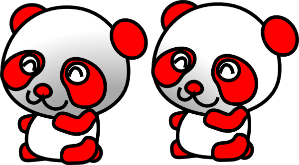 Gambar Cartoon Panda.