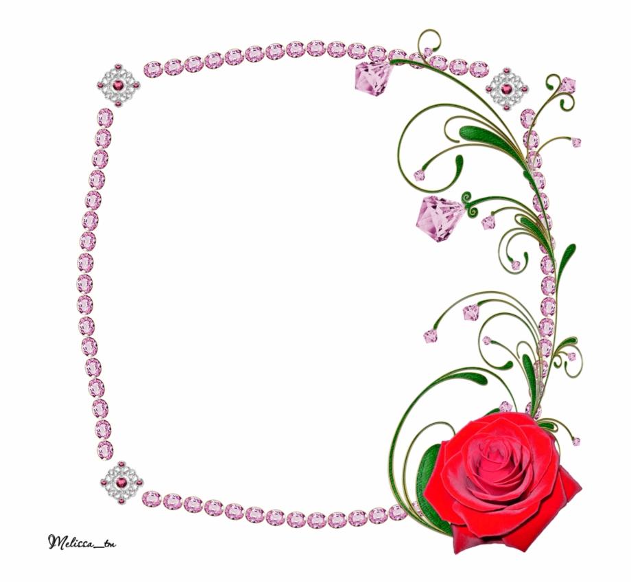 Transparent Pink Roses Frame Png Flowers Transparan.