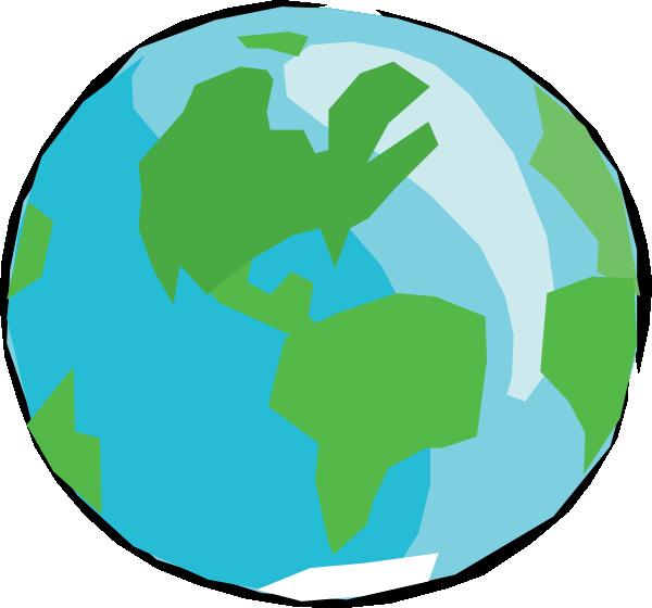 Gambar Globe Kartun.