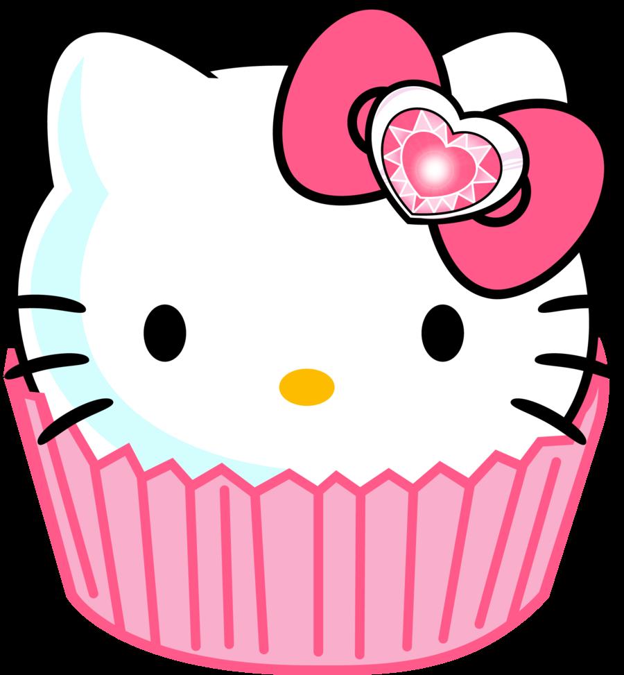 Gambar Hello Kitty Pink.