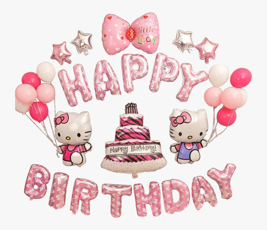 Happy Birthday Gambar Hello Kitty , Free Transparent Clipart.