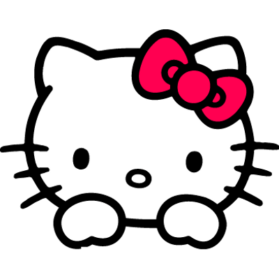 Hello Kitty transparent PNG images.