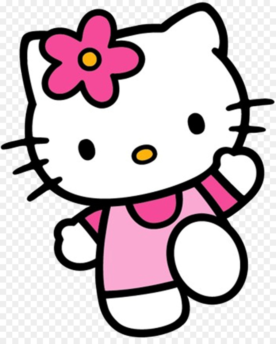 Hello Kitty Background png download.