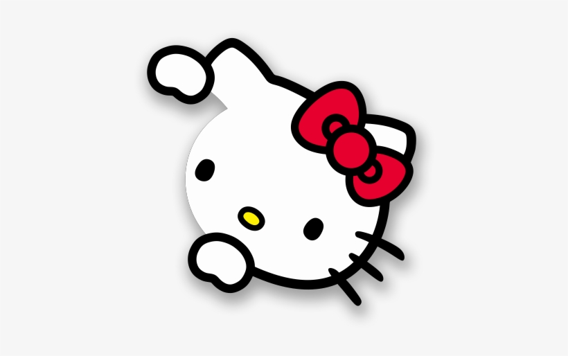 Hello Kitty Sticker Png.