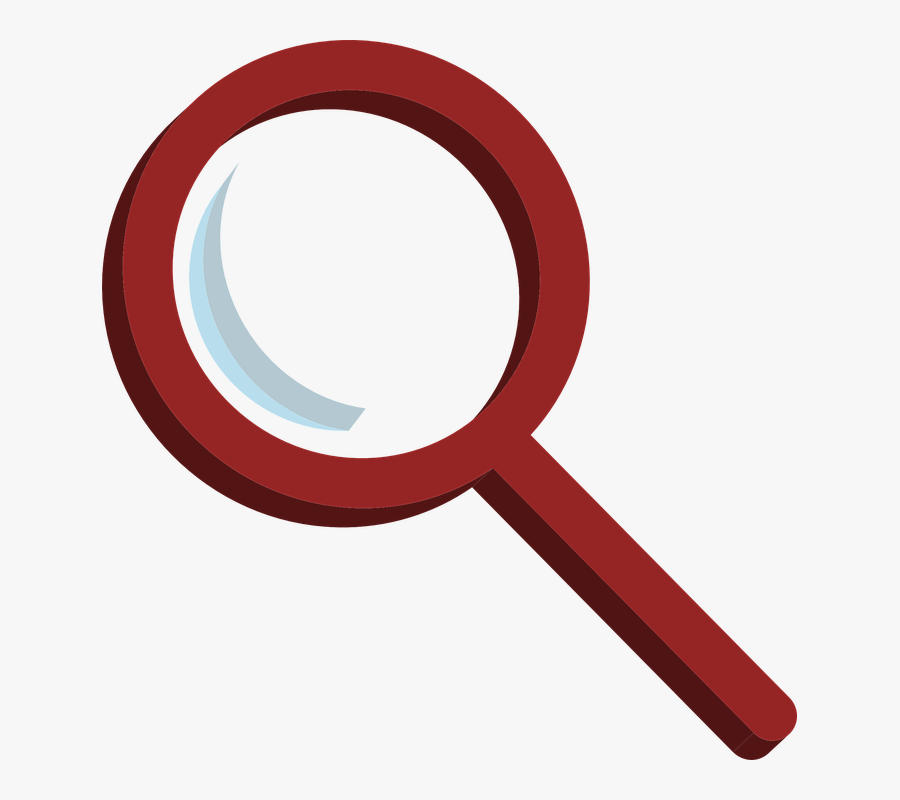 Transparent White Magnifying Glass Icon Png.