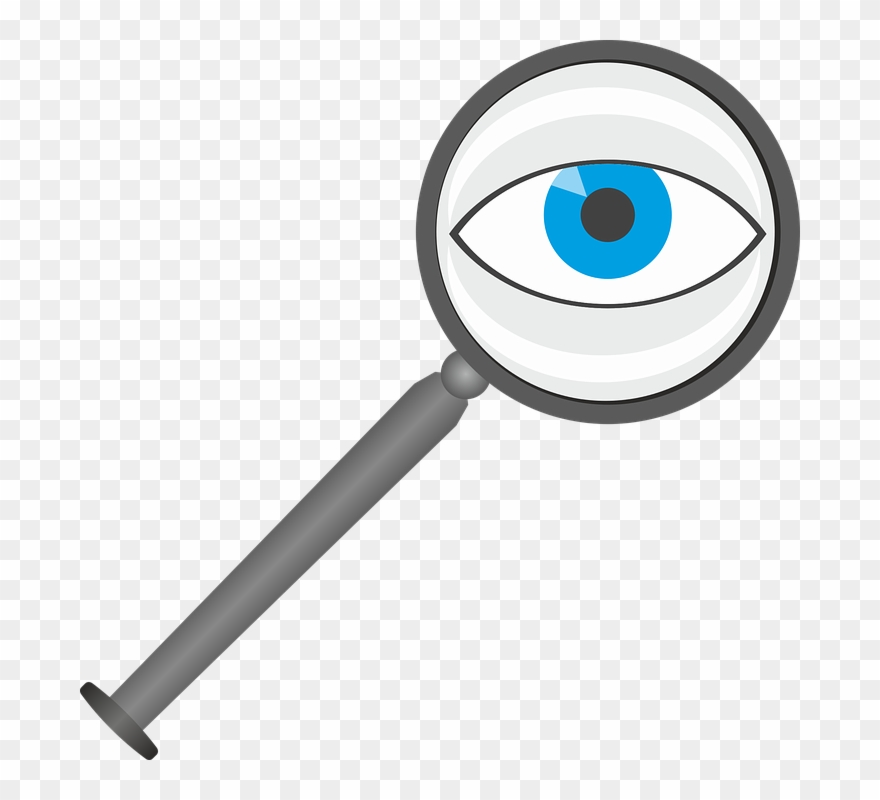 Eye Clipart Magnifying Glass.