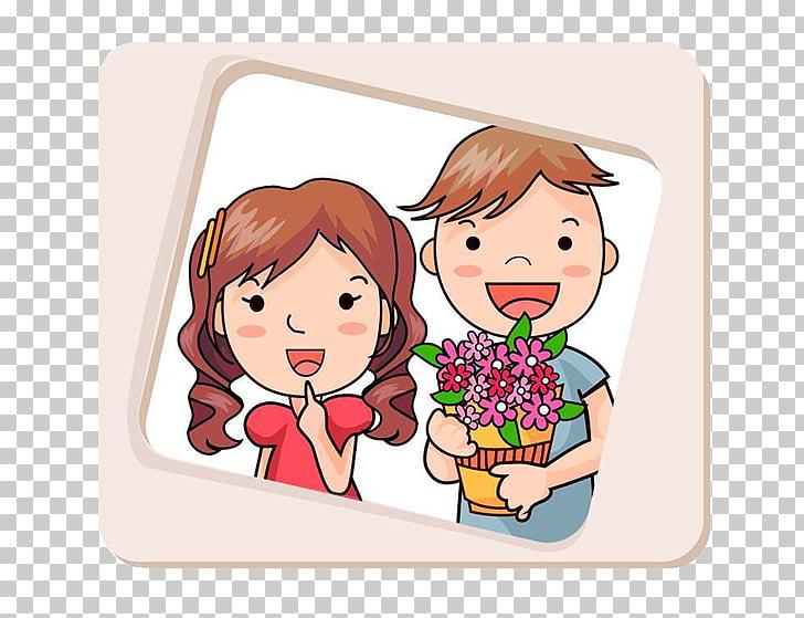 Gambar kata Word Android Love, Valentine\'s Day photo PNG.