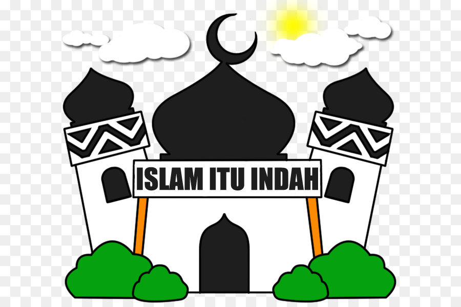 Mosque Background clipart.