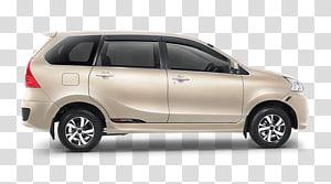 White Toyota Avanza MPV illustration, Daihatsu Xenia Toyota.