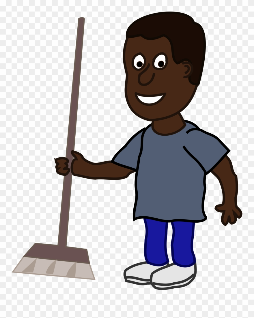 Clipart African Man With Broom 2018 Clip Art 2016 Clip.