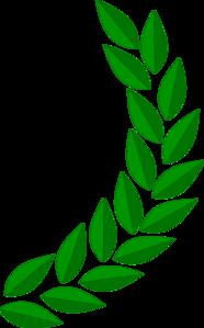 Half Wreath Clip Art at Clker.com.