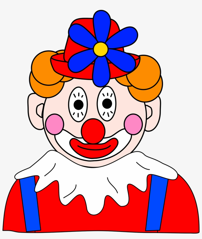 Download Free png Clown Funny Makeup Gambar Wajah Badut Lucu.