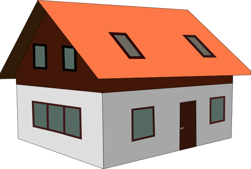 House vector file.