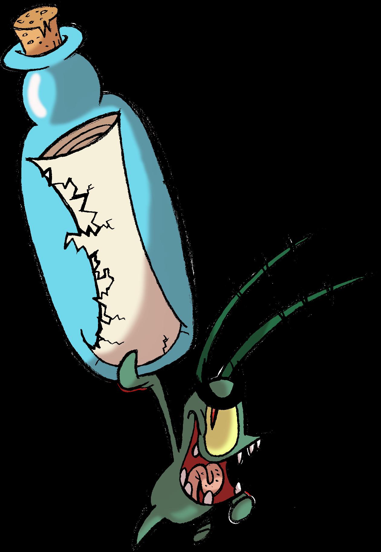 Spongebob Plankton Cliparts.