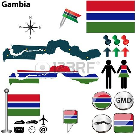 624 Gambian Flag Cliparts, Stock Vector And Royalty Free Gambian.