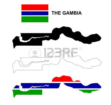 662 Gambia Map Stock Illustrations, Cliparts And Royalty Free.