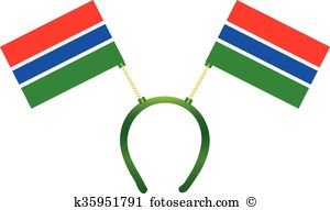 Flag gambia Clip Art Royalty Free. 330 flag gambia clipart vector.