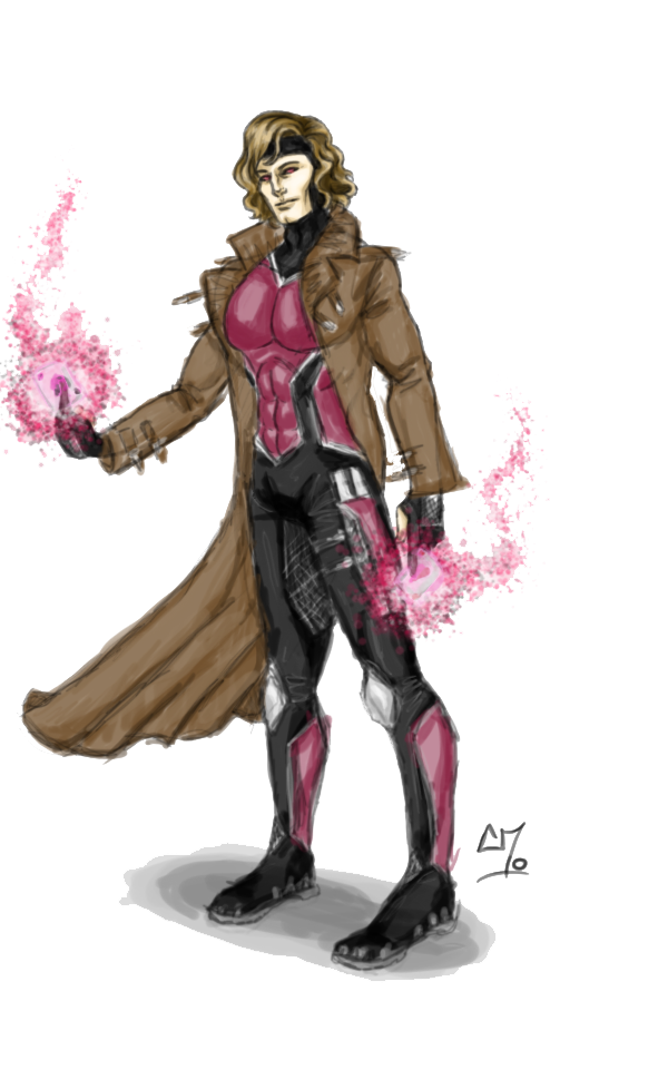 Gambit PNG Clipart.