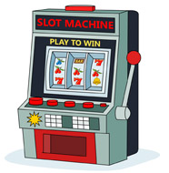 Slot machine clip art.