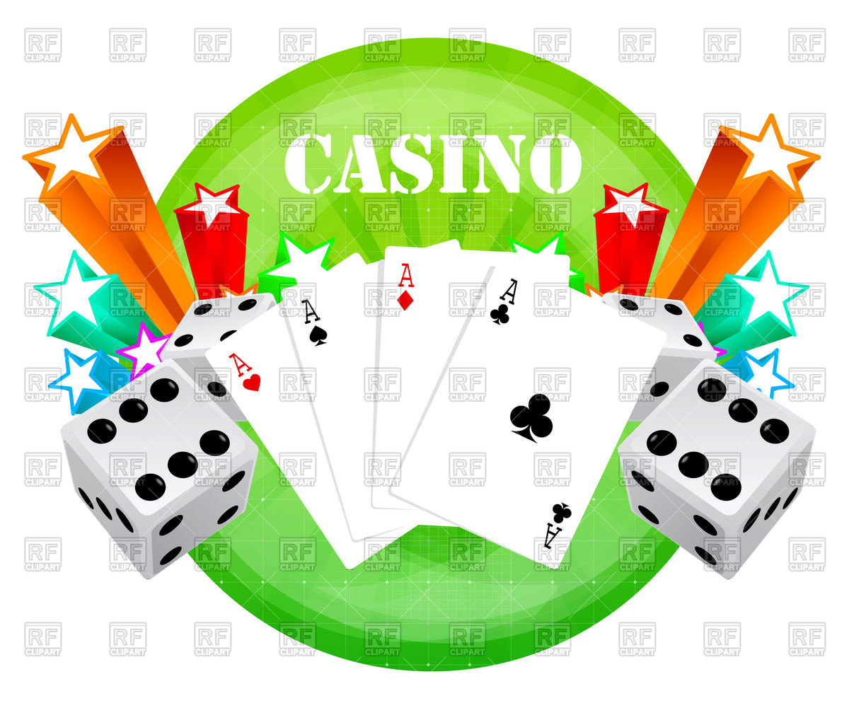 Gambling backdrop with casino elements Stock Vector Image.