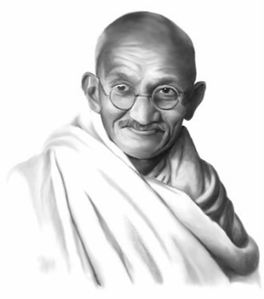 Gandhi Clip Art Page 1.