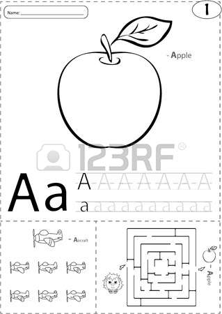Writing game for kids clipart.