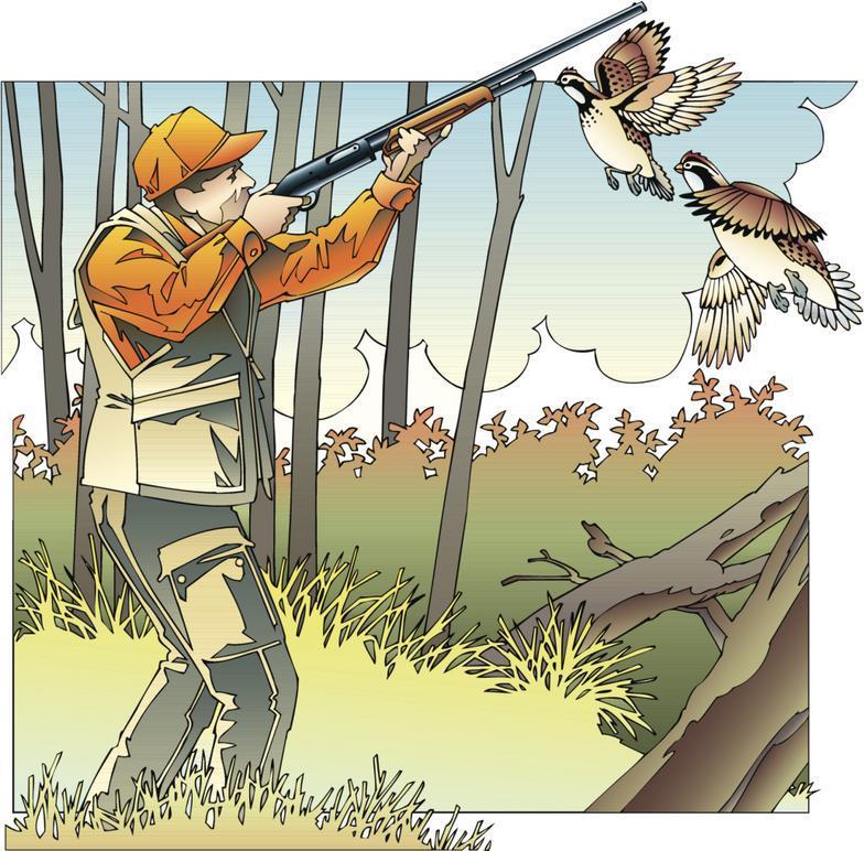Game bird hunting and sales of Bobwhite Quail and Chukar Partridge.