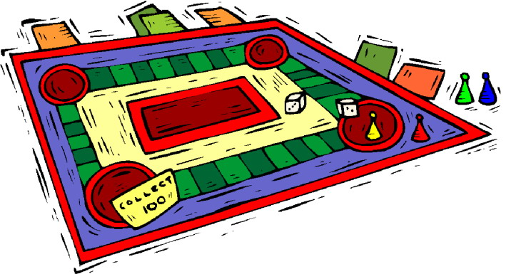 Game Board Clipart.