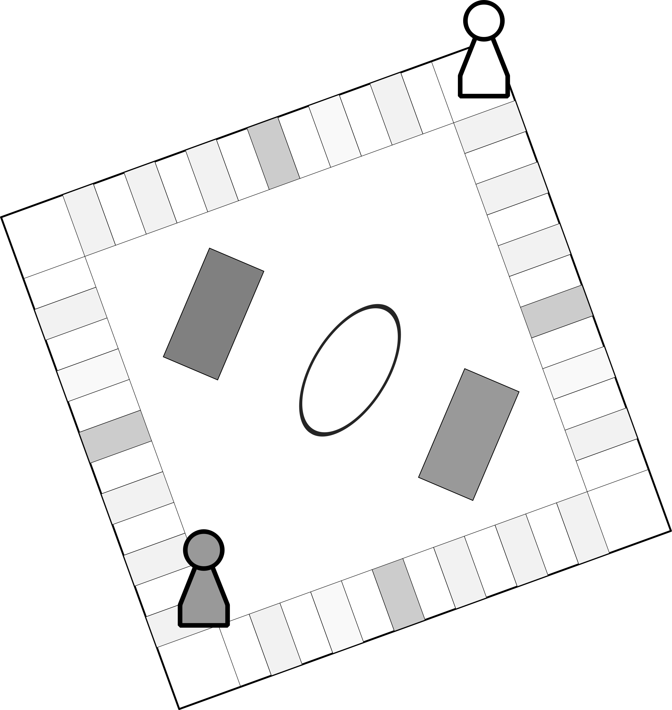 game board clipart black and white