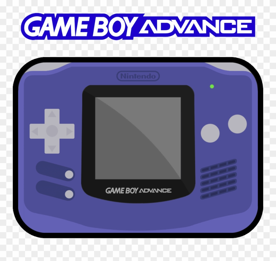 Nintendo Game Boy Advance 1 Logo Hd.