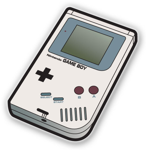 Clipart game boy.